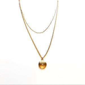 Gold Double Necklace layering